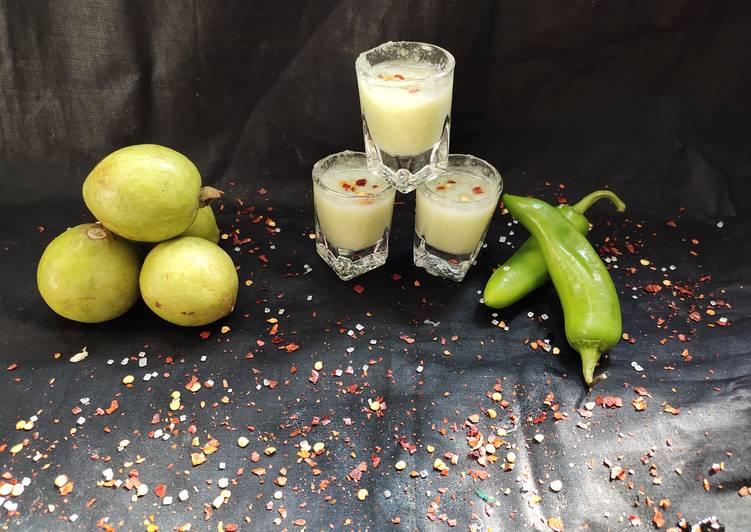 Guava mirch masala shots