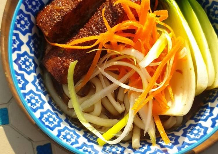 Braised belly of pork ramen 🍜