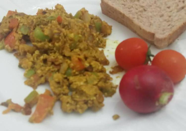 Indian egg bhurji