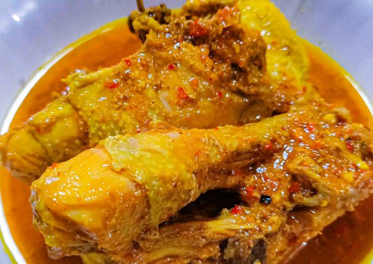 Resep Oblok Ayam Kampung Yang Simple Pasti Ngiler