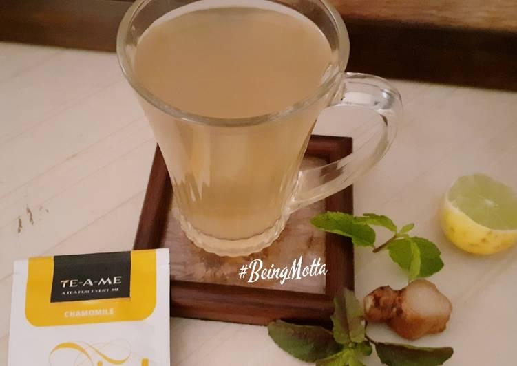 Easiest Way to Make Appetizing Spicy Herbal Green Tea
