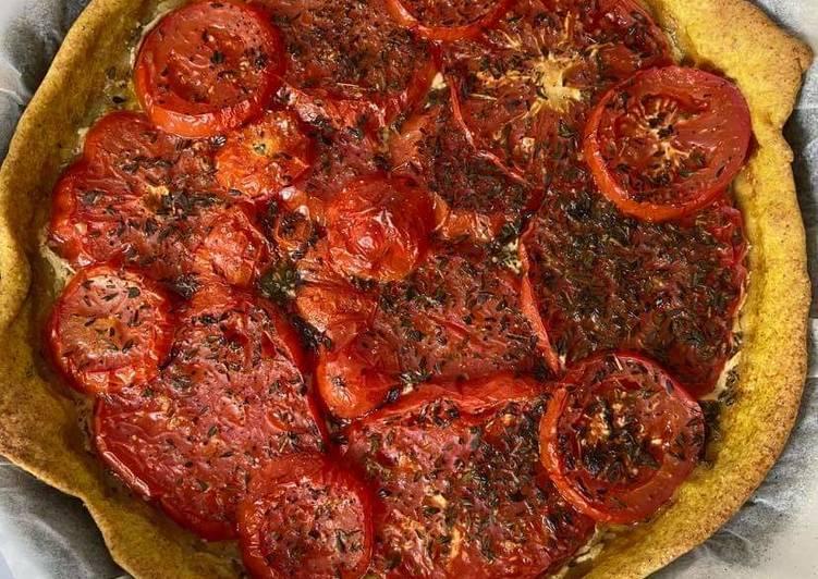 Tarte a la tomate