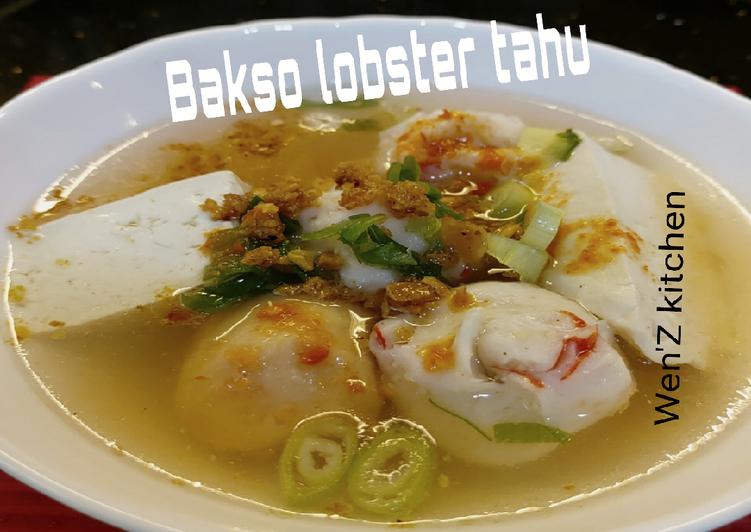Bakso lobster tahu