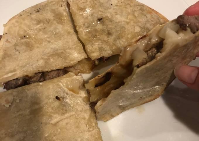 Recipe: Perfect Steak Quesadillas