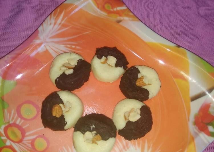 What is Dinner Ideas Quick Chocolate vanilla sandesh