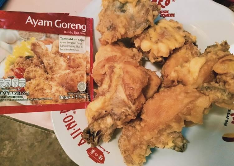 Ayam goreng bumbu Royco