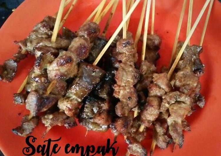 Resep Sate kambing empuk Favorit