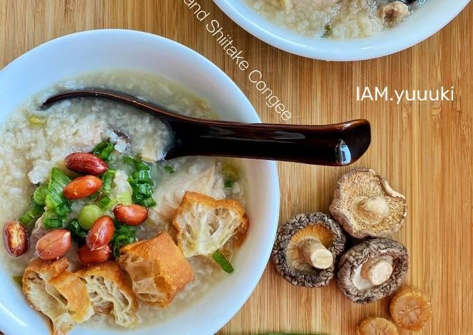 Chicken Mushroom Congee