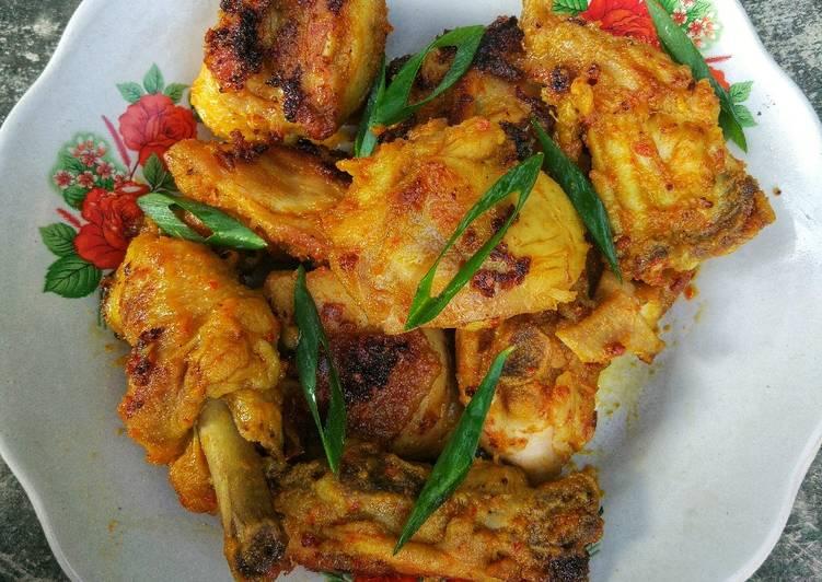 Resep Ayam Bakar Bumbu Padang #pr_recookrancakbana Anti Gagal