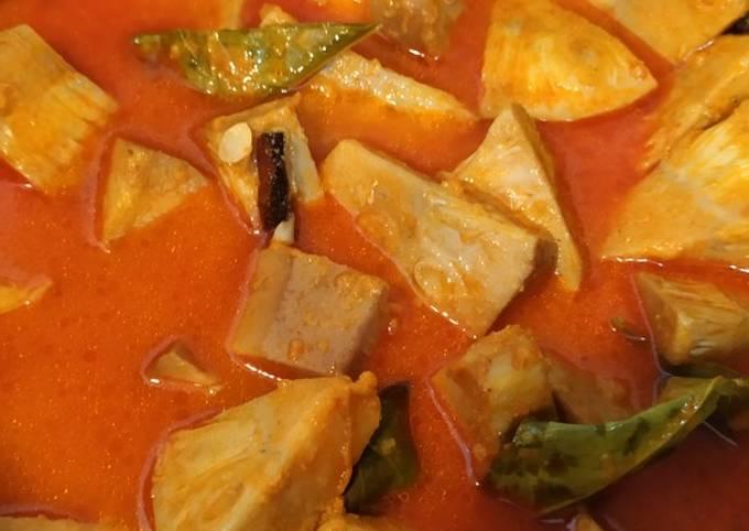 Gulai nangka daging dengan fibercreme
