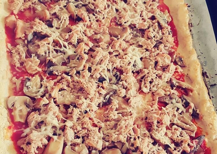 Pizza healthy aux choux-fleurs
