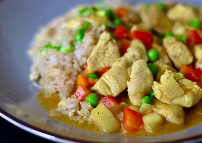 Chicken Chinese curry 🍛