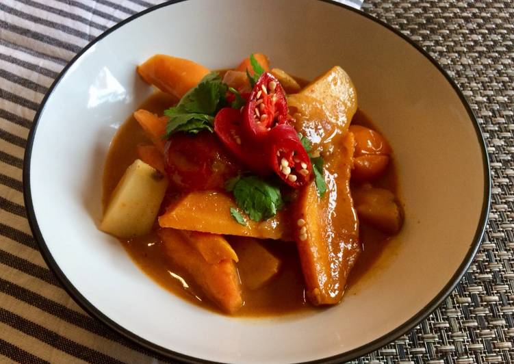 Root Veg Thai Red Curry