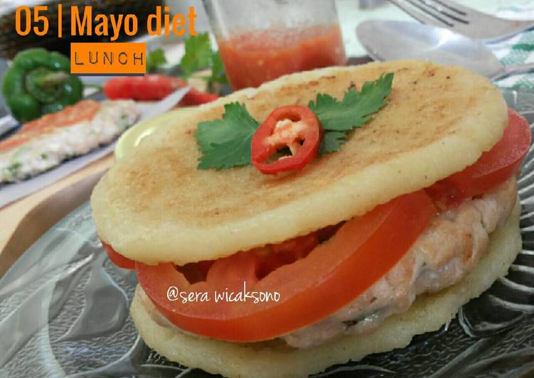 Resep Mayo day 5 – lunch | chicken sandwich Paling dicari