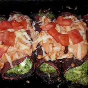 Canelones sin gluten y sin harinas. Canelones fit