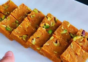 Easiest Way to Make Yummy Supersoft besan barfi recipe