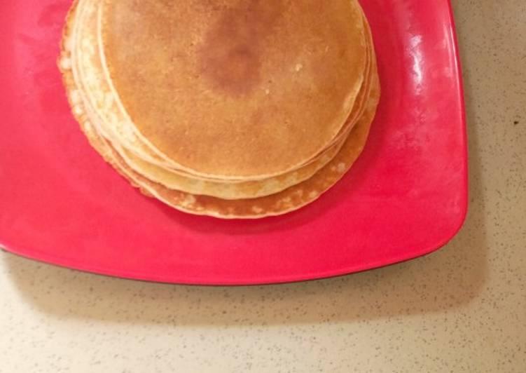 Simple Way to Make Super Quick Homemade Pancake