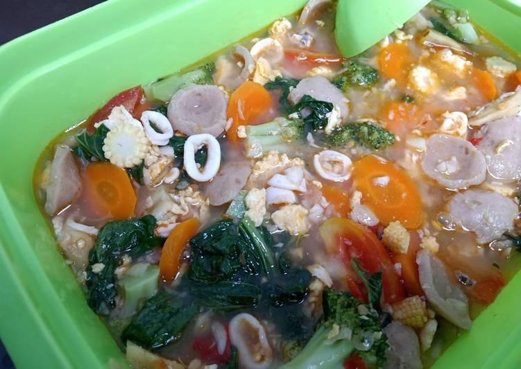 Capcay Kuah Seafood