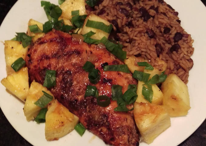 Tropical-Spiced Grilled Chicken Breast