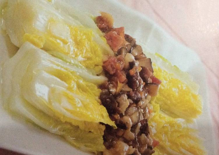 Braised Chinese white cabbage with preserved sausages, Discover The Reality About Superfoods