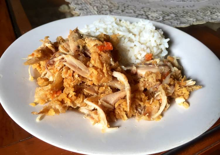 Ayam Geprek Sederhana