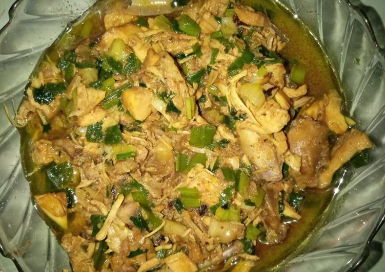 Ayam cincang homemade