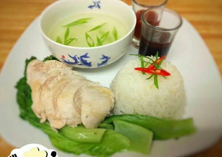 Resep Nasi Ayam Hainan Rice Cooker Oleh Elza Simple