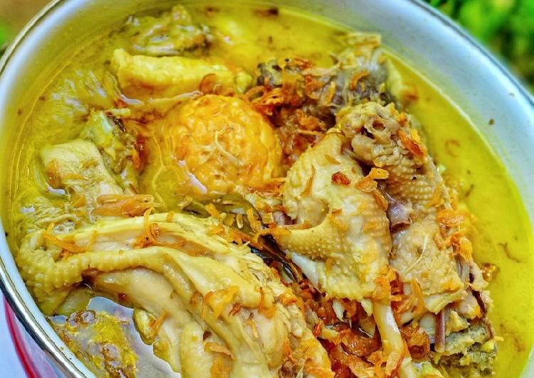 Opor Ayam Tahu Telur