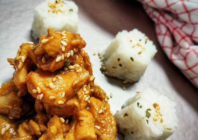 Chicken Yakiniku Ala Yoshinoya