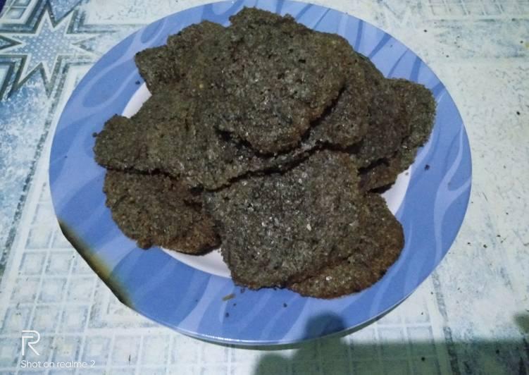 Resep Resep cookies beras hitam Anti Gagal