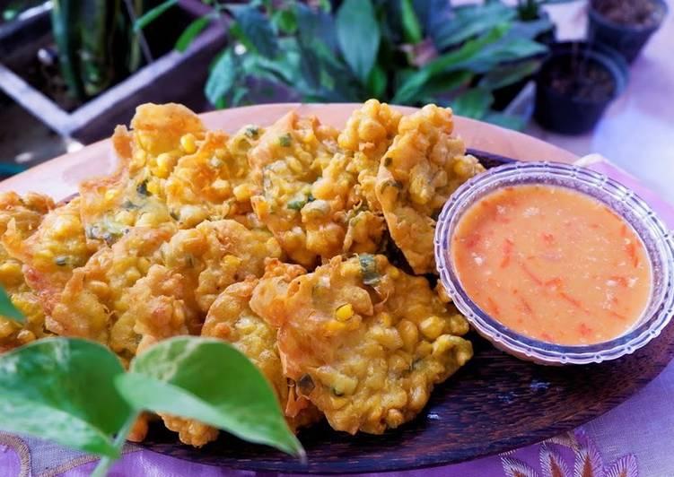 Bakwan Jagung Golden Crispy