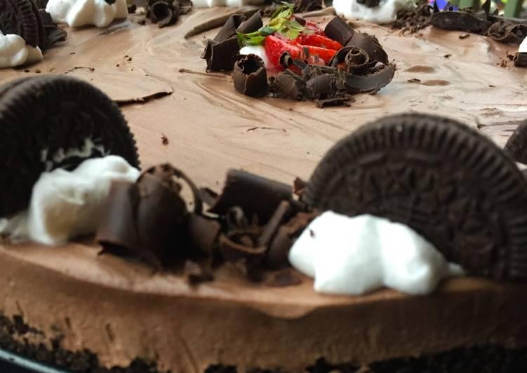 25 Minute Recipe of Any Night Of The Week No bake oreo cream cake