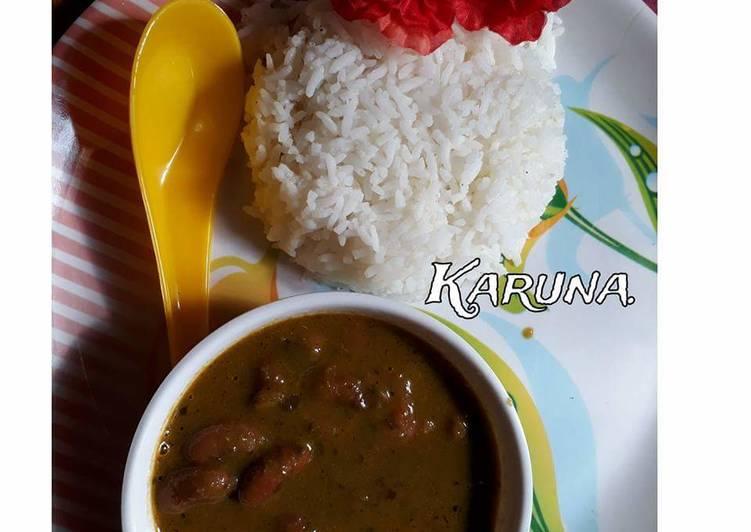 Everyday Fresh Rajma Palak curry