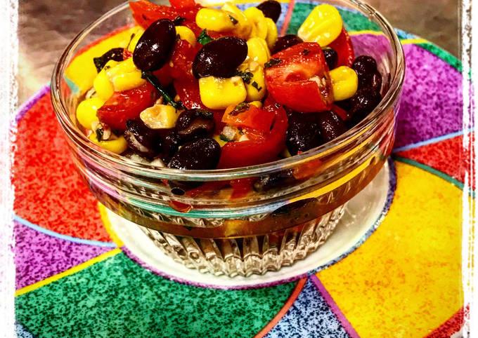Recipe: Tasty Black Bean Cilantro Corn Salsa