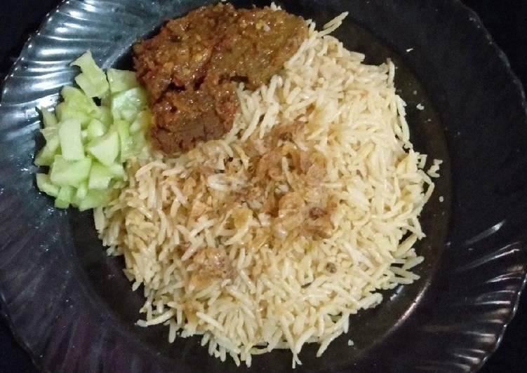Cara Membuat Nasi Kebuli Gurih gampang