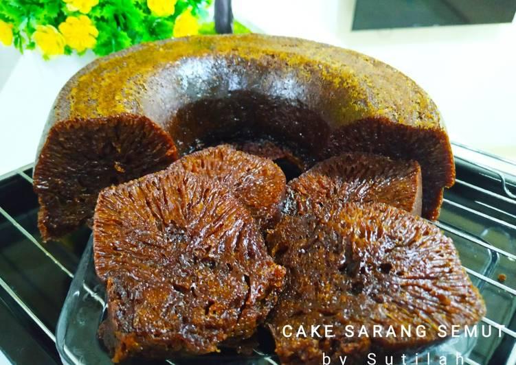 cara bikin Bolu Karamel/Sarang Semut - Sajian Dapur Bunda