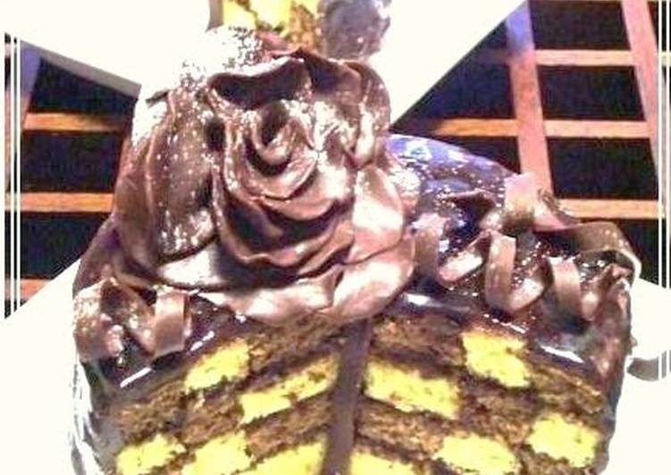 Easiest Way to Prepare Any-night-of-the-week Amore Mio ~ Blossoming Roses~ Damie Fresh Chocolate Cake For Valentine's