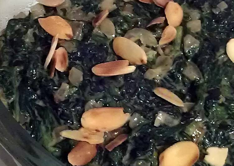 Recipe of Homemade Vickys Zesty Creamed Spinach, Gluten, Dairy, Egg & Soy-Free