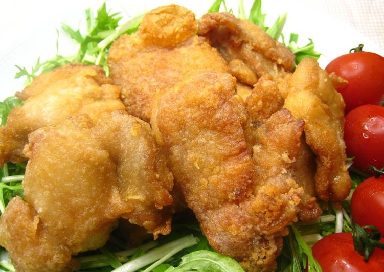 Crispy and Juicy Chicken Karaage