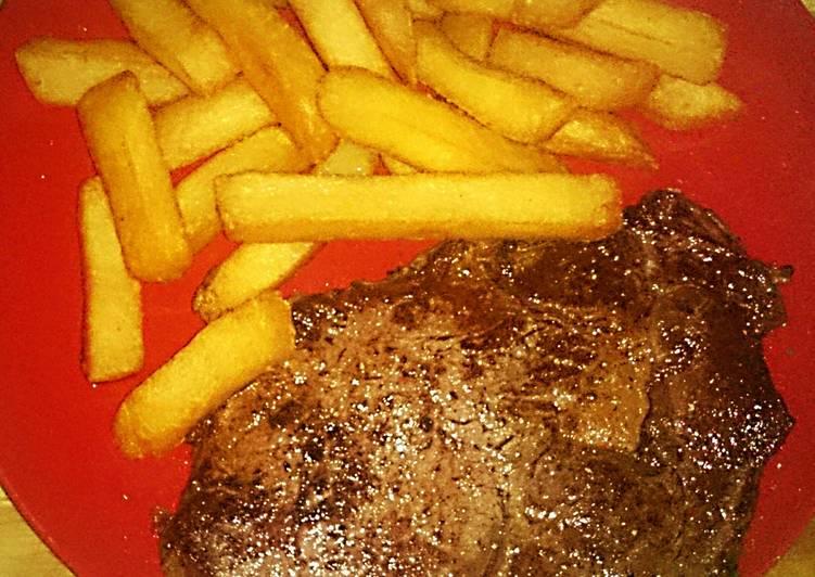Tex's Steak & Chips 🐮🍟