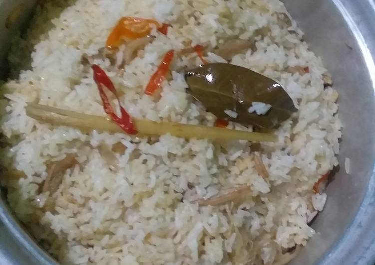 Nasi Liwet Udang Rebon - cookandrecipe.com