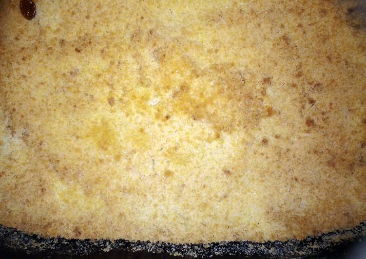 APPLE CRUMBLE (a very simple recipe for a sunday afternoon treat)