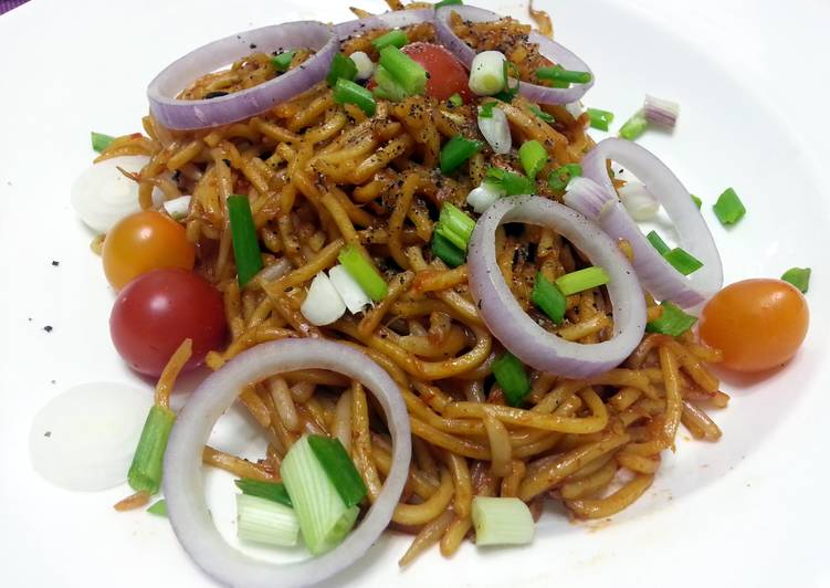 Spicy Vegetarian Noodle
