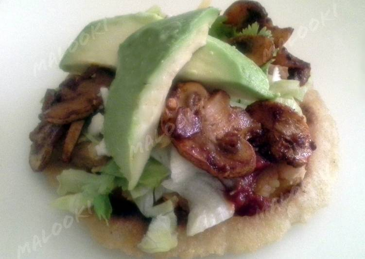 Steps to Prepare Favorite Vegetarian tostadas