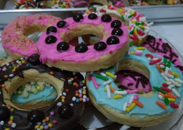 Cemilan Donat Mini Cookies Variasi