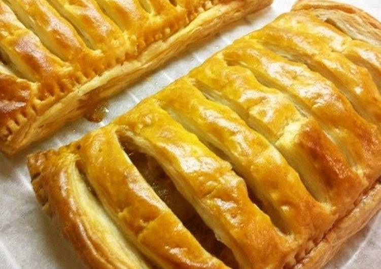 Steps to Make Perfect Easy Apple Pie with Frozen Puff Pastry
