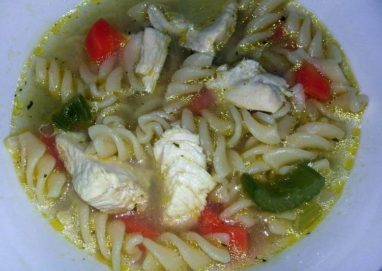 chicken noodle soup - Laurie G Edwards