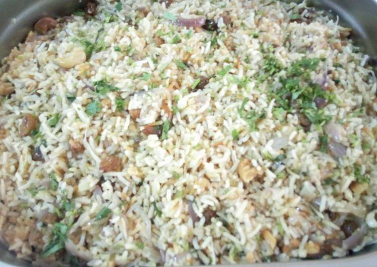 Easiest Way to Prepare Favorite Cashew and sultana rice