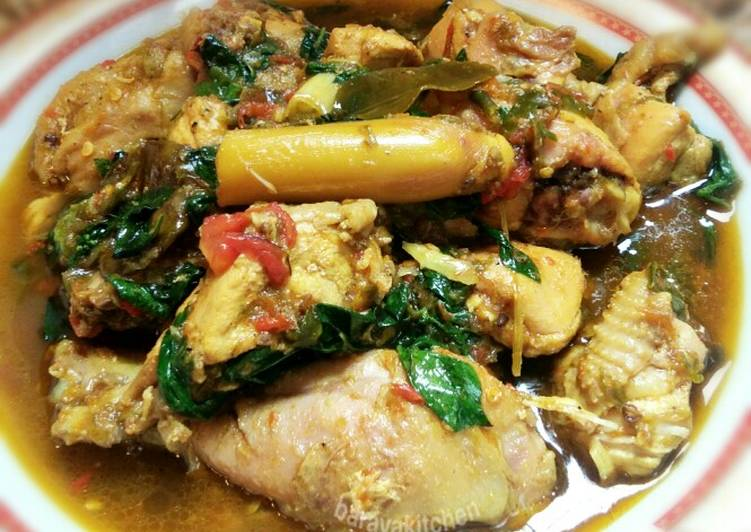 Ayam woku cabe hijau