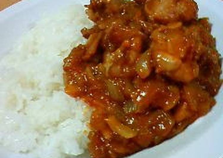 Easy, Delicious Tomato Chicken Curry
